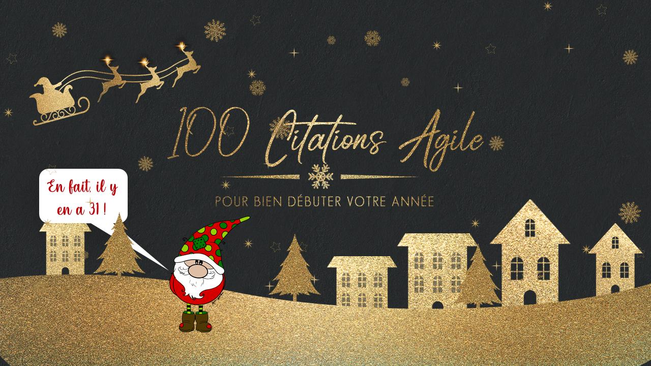 AGILE CHRISTMAS : CITATIONS AGILE