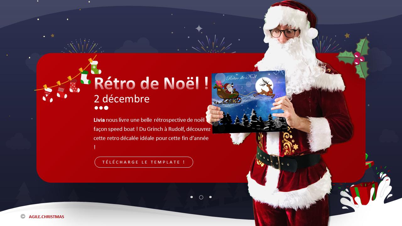 AGILE CHRISTMAS : RETROSPECTIVE DE NOEL